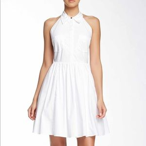 Rachel Zoe Halter Shirt Dress